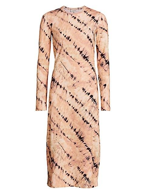 Mail Tie-Dye T-Shirt Dress
