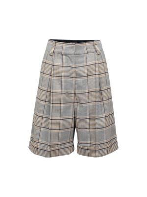 Baum Und Pferdgarten Nouga Plaid Longline Shorts