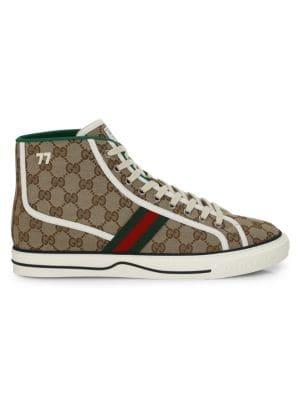 Mens Gucci Tennis 1977 High-Top Sneakers