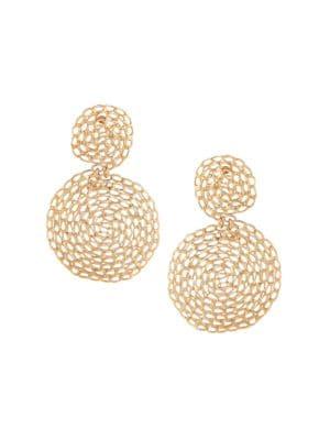 Gas Bijoux Gourmette Double Drop Earrings