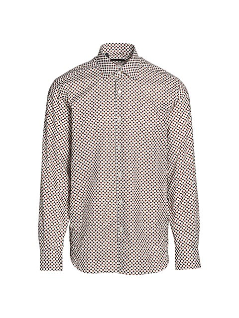 COLLECTION Abstract Dot Sport Shirt