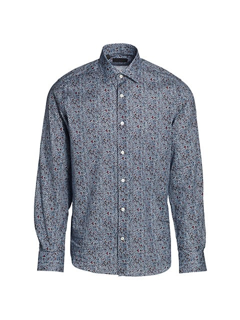 COLLECTION Tweed-Print Shirt