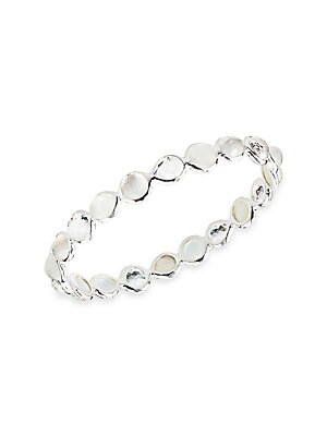 Sterling Silver Just Like Mommy D//C Slip-On Childs Bangle