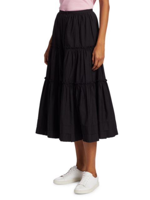 The Marc Jacobs The Prairie Midi Skirt   SaksFifthAvenue