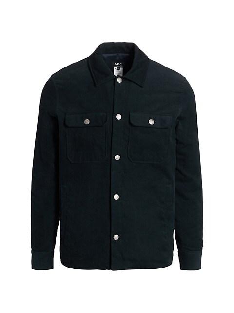 Alex Corduroy Shirt Jacket