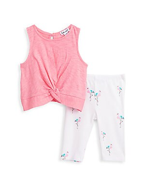 Twisted Envy Baby Pants Floral Gypsy Bohemian Baby and Toddler Girls Leggings