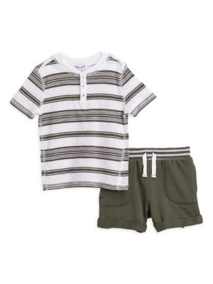 Splendid Baby Boys Basic Short Sleeve Tee Shirt