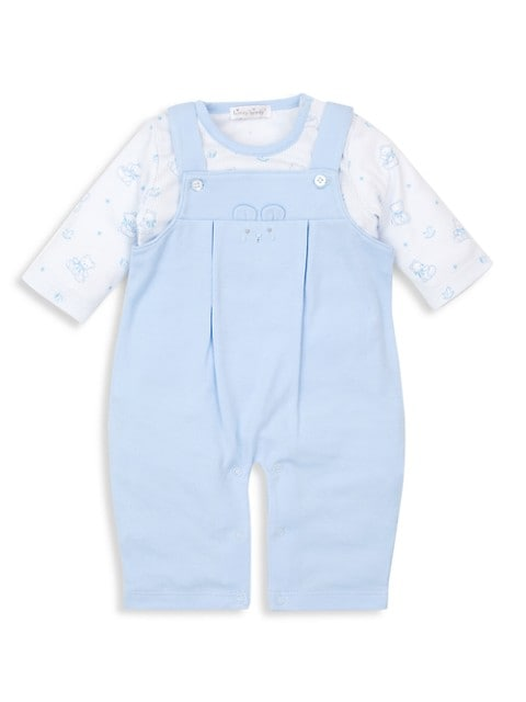 Baby Boy's 2-Piece Bearly Believable Coverall Set