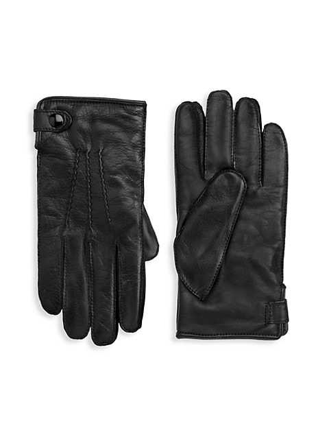 COLLECTION Leather Touch Tech Gloves