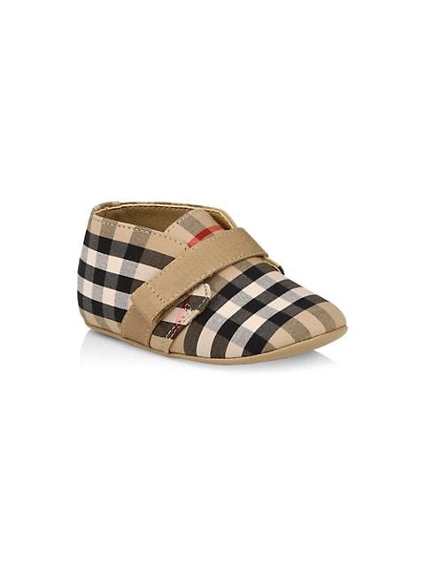 Baby's Charlto Check-Print Shoes