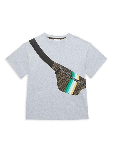 Little Boy's & Boy's Fanny Pack Graphic T-Shirt