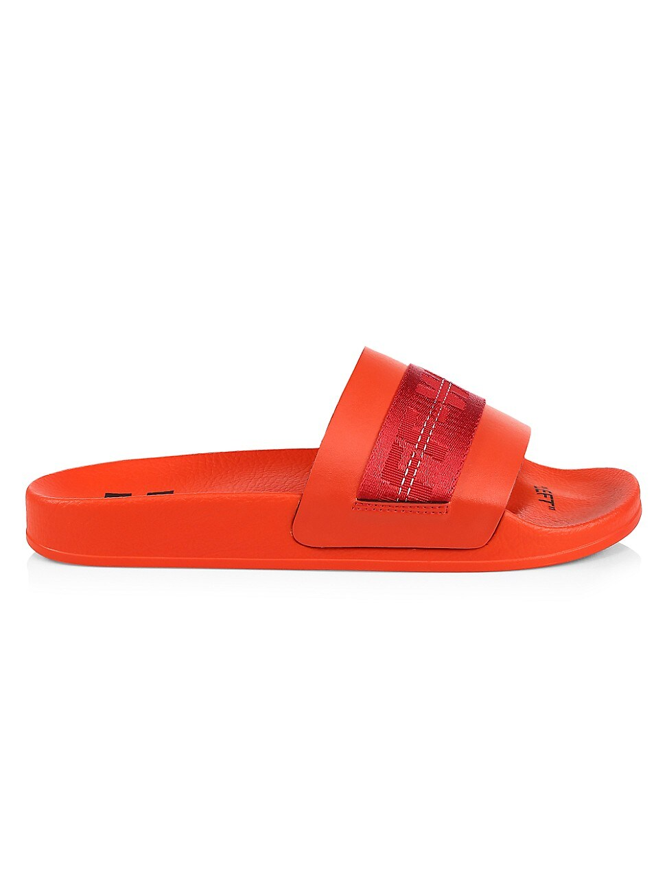 Off-White MEN'S INDUSTRIAL LOGO SLIDE SANDALS