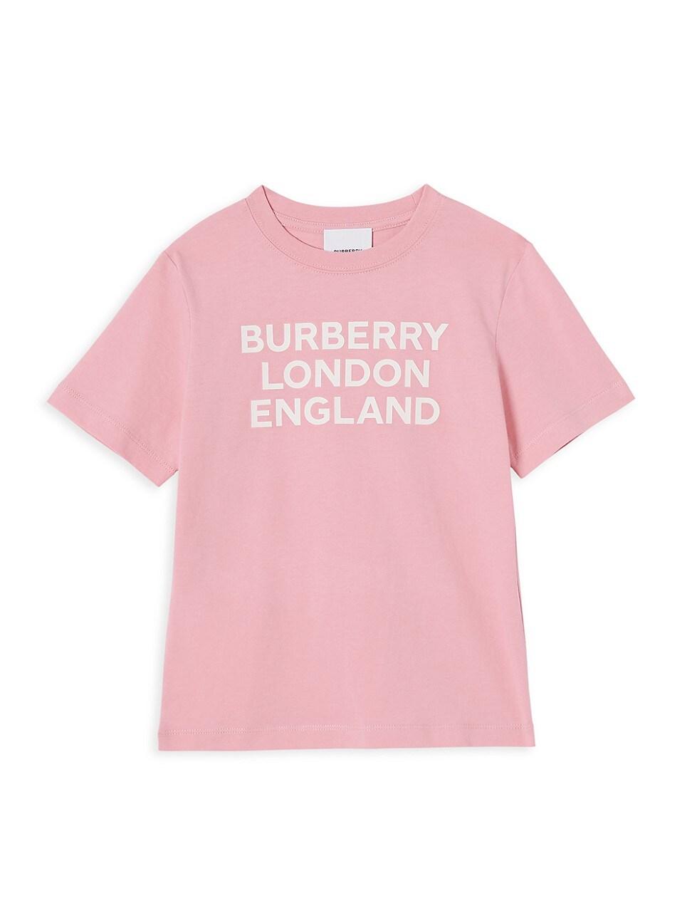 Burberry Cottons LITTLE GIRL'S & GIRL'S BLE T-SHIRT