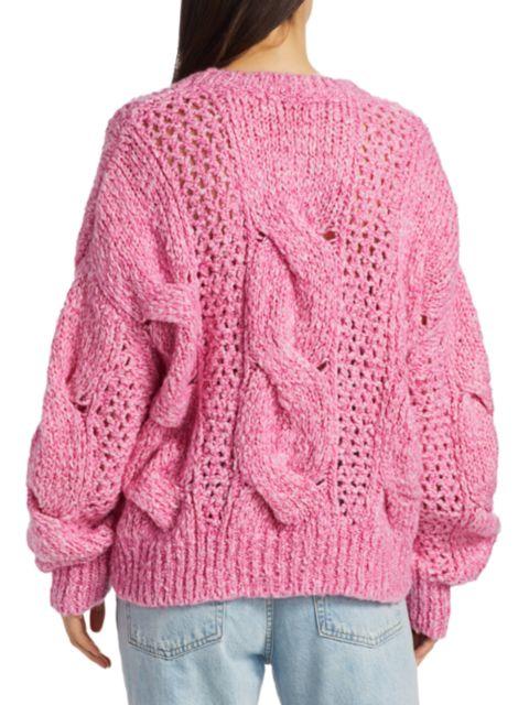 IRO Belaga Cableknit Sweater   SaksFifthAvenue
