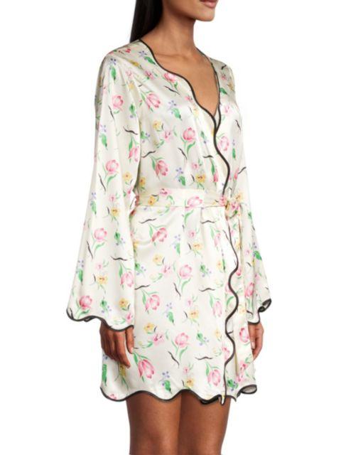 Morgan Lane Annabelle Floral Robe   SaksFifthAvenue