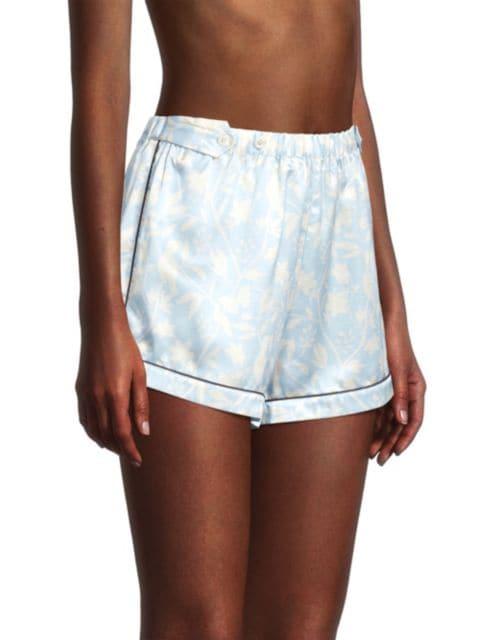 Morgan Lane Katelyn 2-Piece Short-Sleeve Shirt & Shorts Set | SaksFifthAvenue