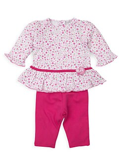 Kissy Kissy Baby-Girls Infant Jungle Jibes Print Convertible Gown