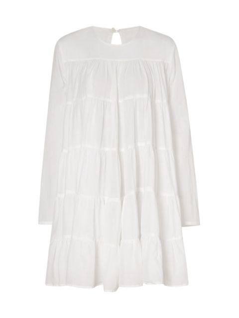 Merlette Soliman Cotton Trapeze Dress | SaksFifthAvenue