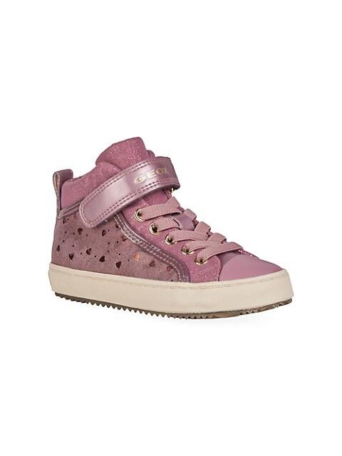Little Girl's & Girl's Kalispera Shimmer High-Top Sneakers