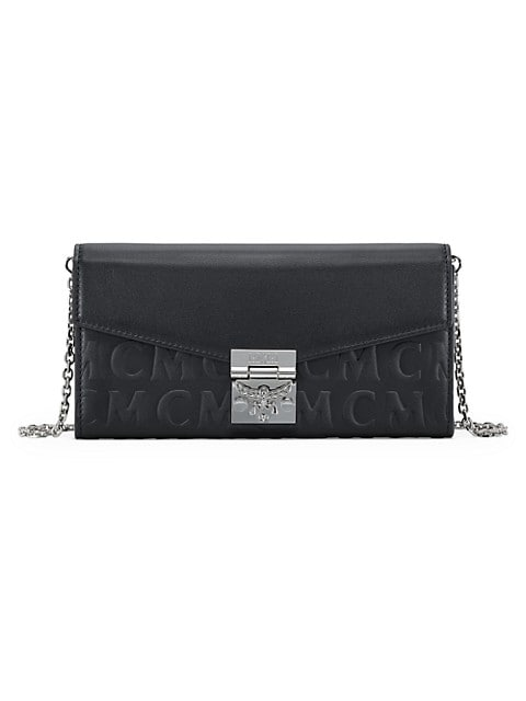 Large Patricia Monogram Leather Wallet-On-Chain