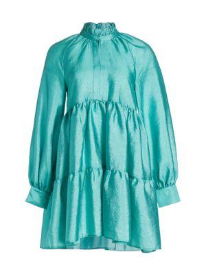 Stine Goya Jasmine Tiered Ruffle Babydoll Dress