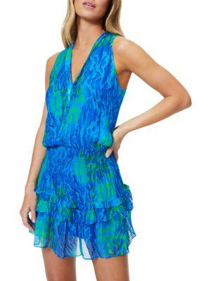 Ramy Brook Kimmy Ruffle Mini Dress
