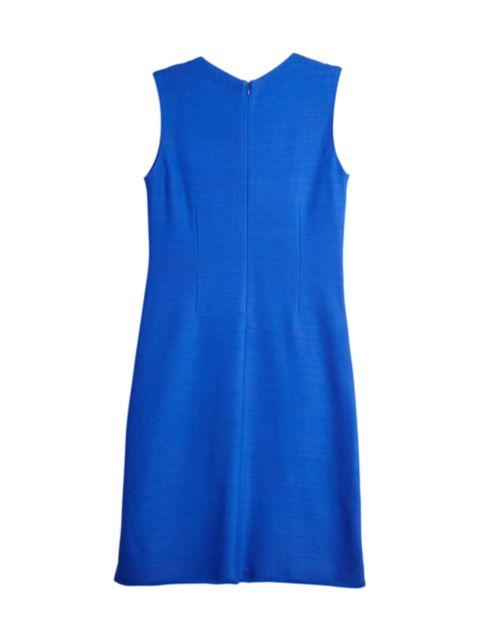 Misook Cross Stitch Flare Knit Dress   SaksFifthAvenue