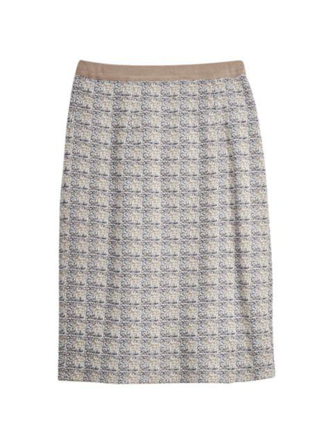 Misook Straight Jacquard Knit Skirt   SaksFifthAvenue