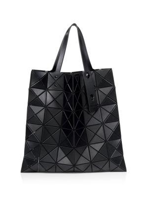 Bao Bao Issey Miyake Leathers Lucent Matte Geometric Tote