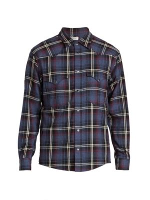 Isabel Marant Pitt Check Plaid Shirt