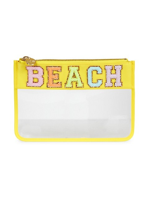 Beach Clear Flat Pouch