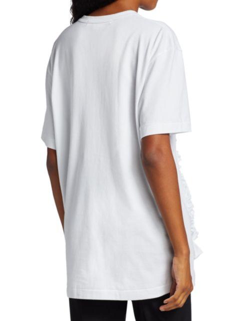 Comme des Garcons Comme des Garcons Textured Ruffle T-Shirt | SaksFifthAvenue