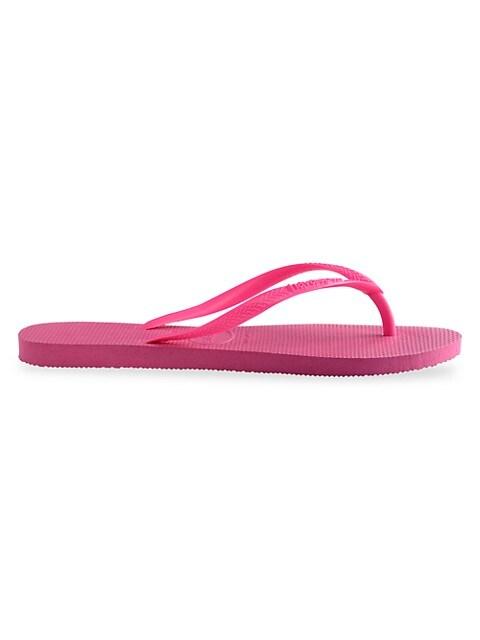 Little Girl's & Girl's Slim Classic Flip Flops