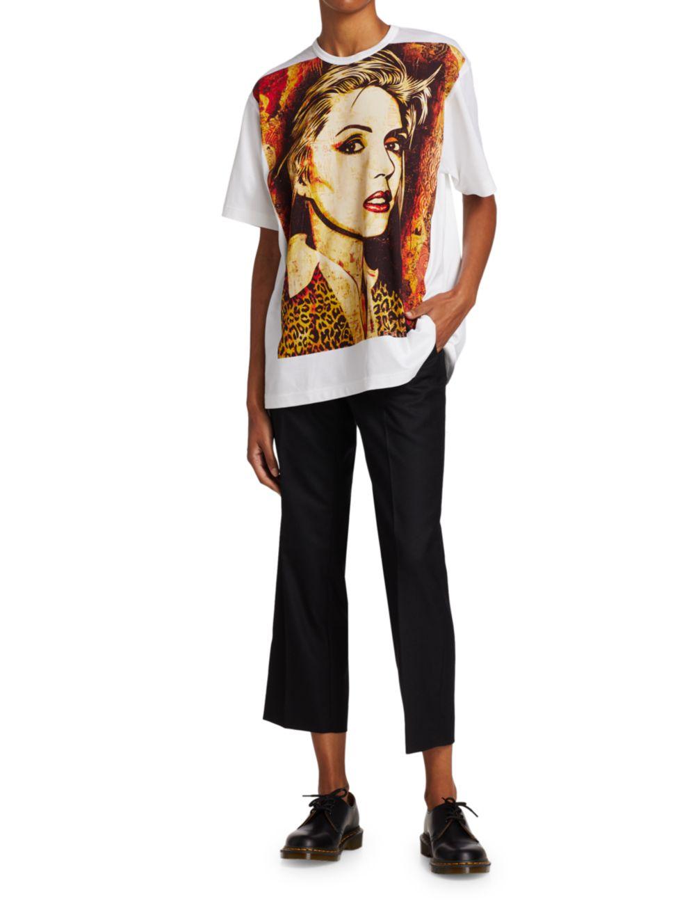 Junya Watanabe Debbie Harry Graphic T-Shirt   SaksFifthAvenue