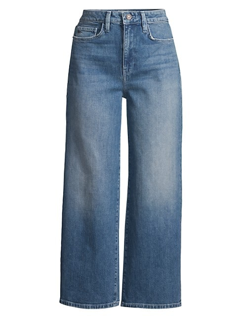 Wyckoff High-Rise Wide-Leg Jeans