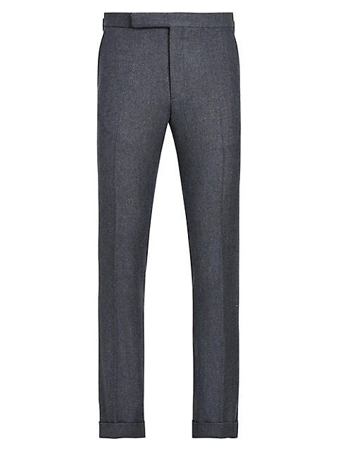 Gregory Wool-Blend Trousers