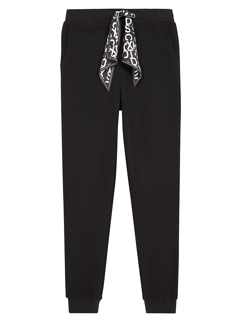 The Kooples WOMEN'S SCARF DETAIL JOGGER PANTS