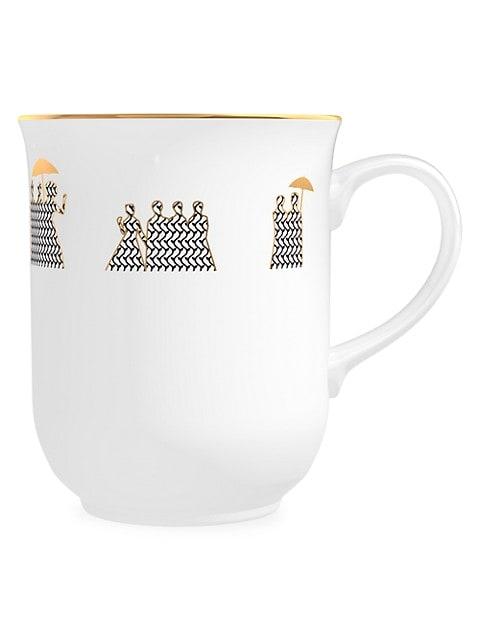 Memo Paris Cedar Scented Porcelain Coffee Mug Candle Saksfifthavenue