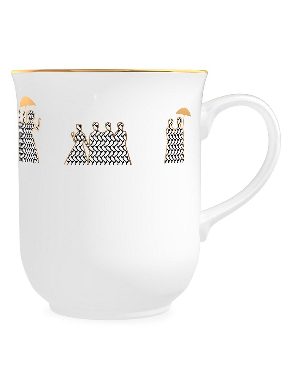 Memo Paris Cedar Scented Porcelain Coffee Mug Candle