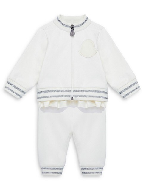 Baby's & Little Boys 2-Piece Knit Jacket & Pants Set