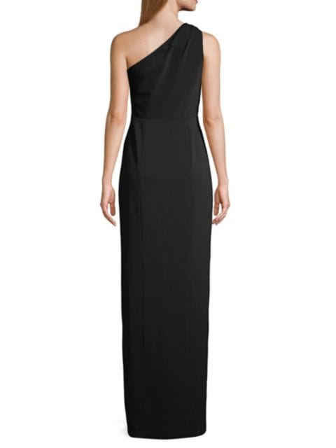Jay Godfrey Goldie Asymmetrical Gown   SaksFifthAvenue