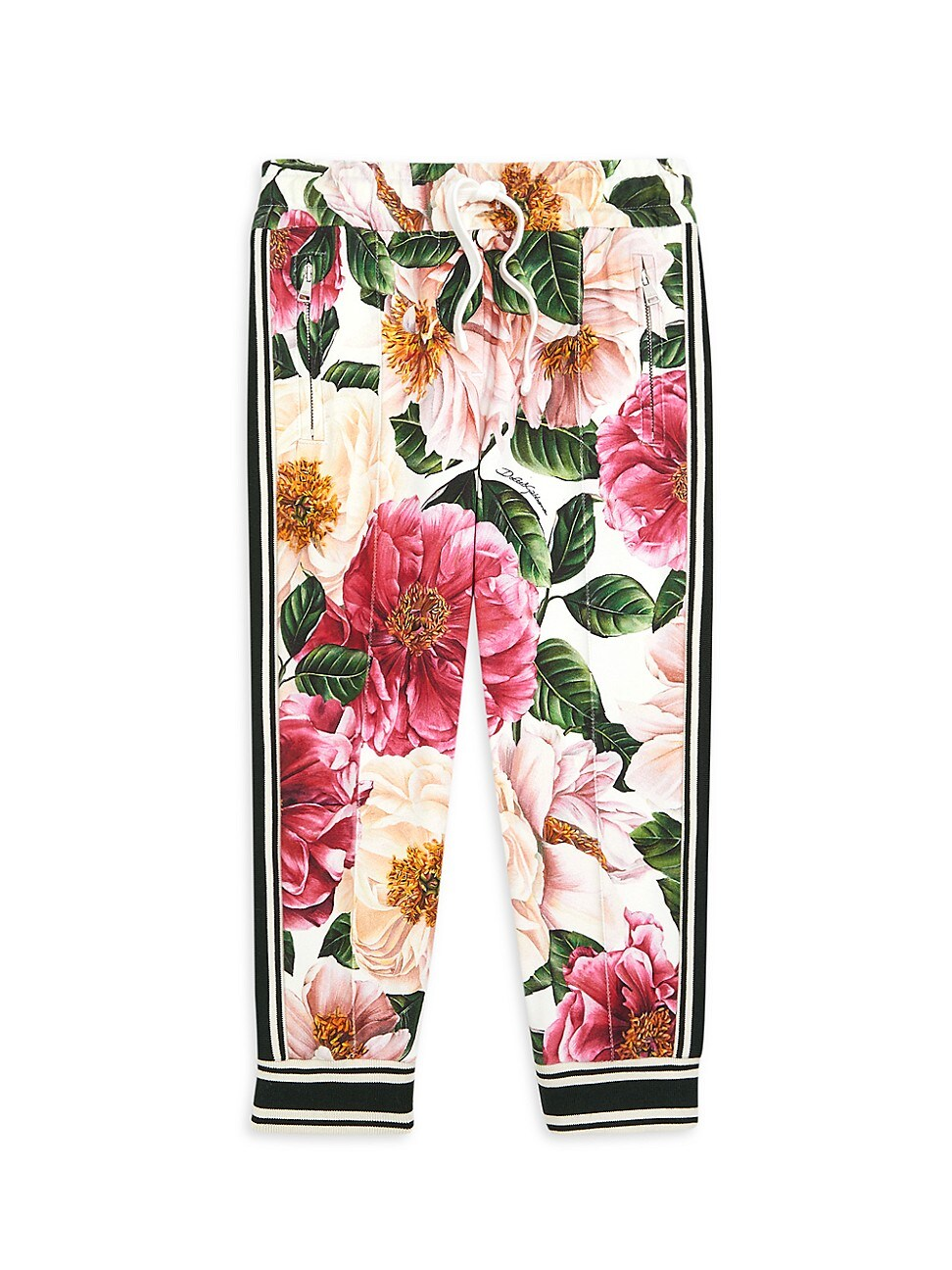 Dolce & Gabbana LITTLE GIRL'S & GIRL'S FLORAL JOGGERS