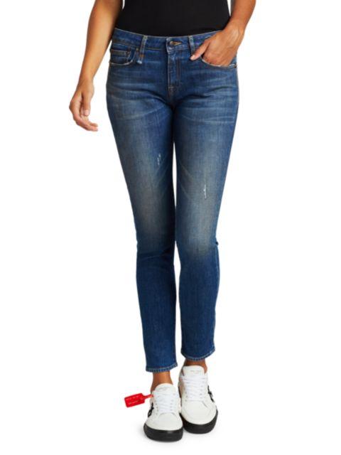 R13 Kate High-Rise Skinny Jeans | SaksFifthAvenue