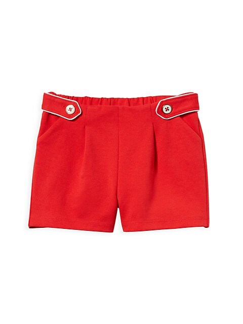 Baby's, Little Girl's & Girl's Side-Button Shorts