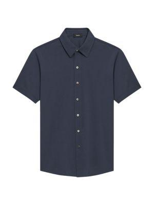Theory Standard-Fit Fairway Sport Shirt