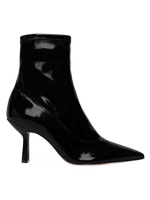Charleni Patent Sock Boots
