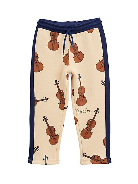 Little Boy's & Boy's Violin Track Pants