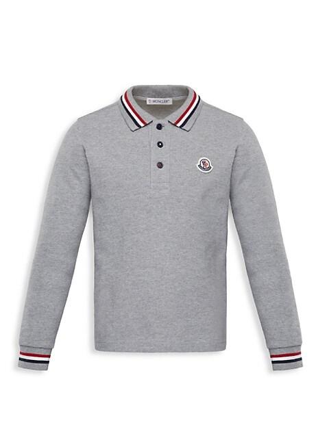 Little Boy's & Boy's Long-Sleeve Polo Shirt