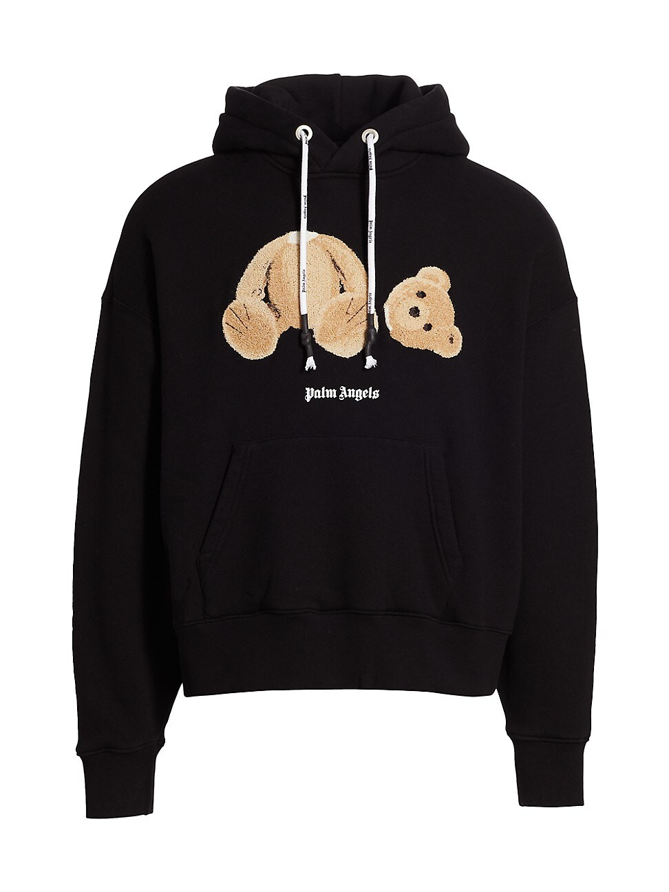 Palm Angels Cottons MEN'S BEAR GRAPHIC HOODIE