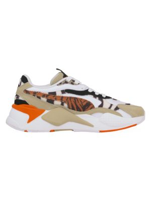 Puma Women's RS-X³ Wildcats Animal-Print Pony Hair & Suede Sneakers